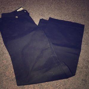 Black Khaki Trousers
